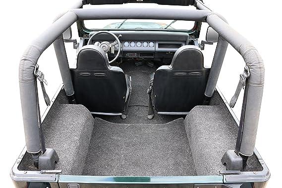 Amazon.com: BedRug Jeep Combo Kit - BedRug CBRYJ87 fits 1987-95 YJ (Includes Front and Cargo Kit): Automotive
