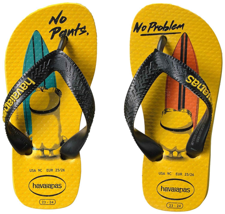 6e435593c Havaianas Kids  Minions Sandal Flip Flop
