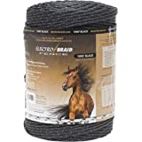 ElectroBraid PBRC1000B2-EB Horse Fence Conductor Reel, 1000-Feet, Black