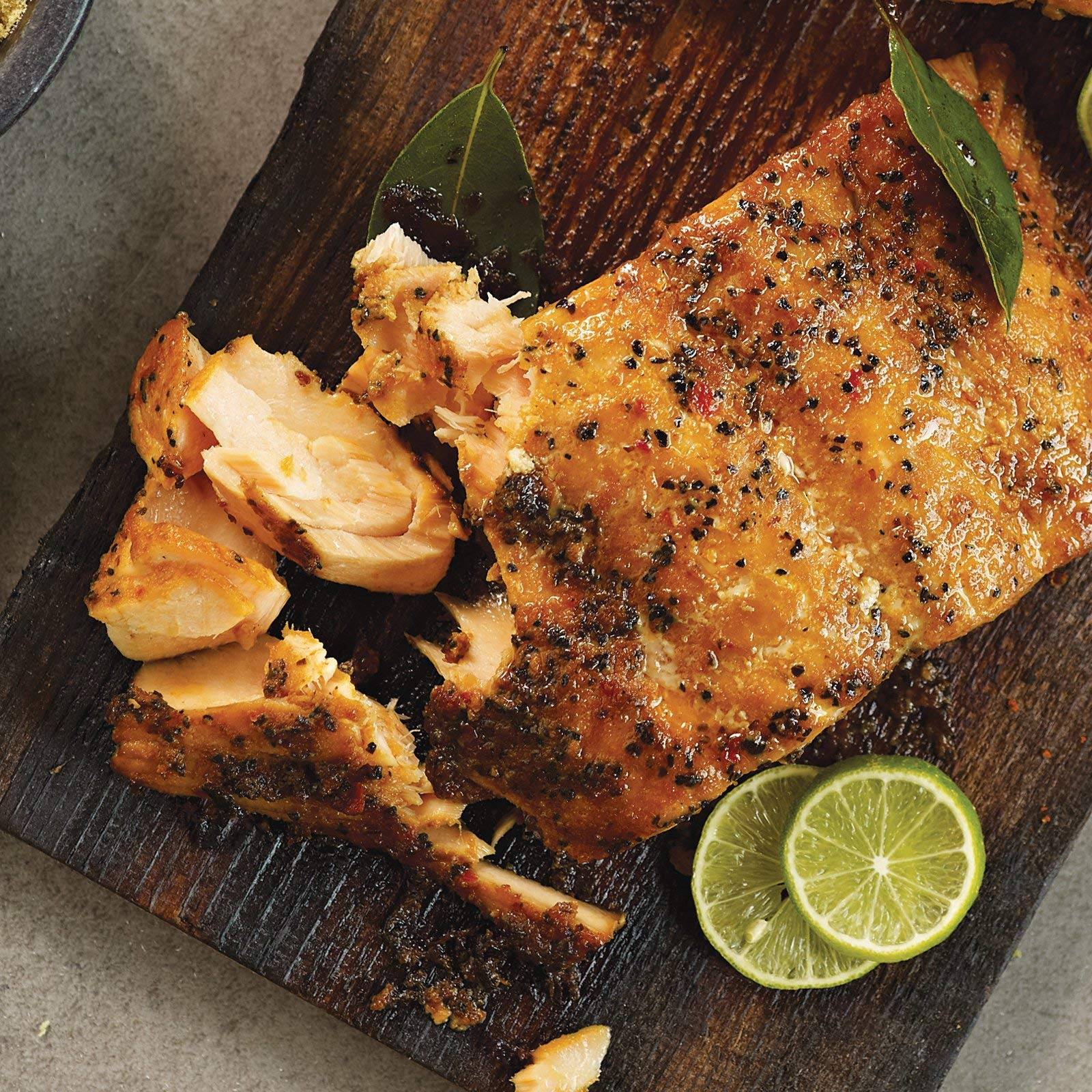 Omaha Steaks 8 (6 oz.) Marinated Salmon Fillets by Omaha Steaks (Image #1)