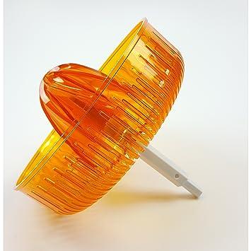 Cono de presión Bosch (naranja) para exprimidor MUZ5ZP1, adecuado para MUM5