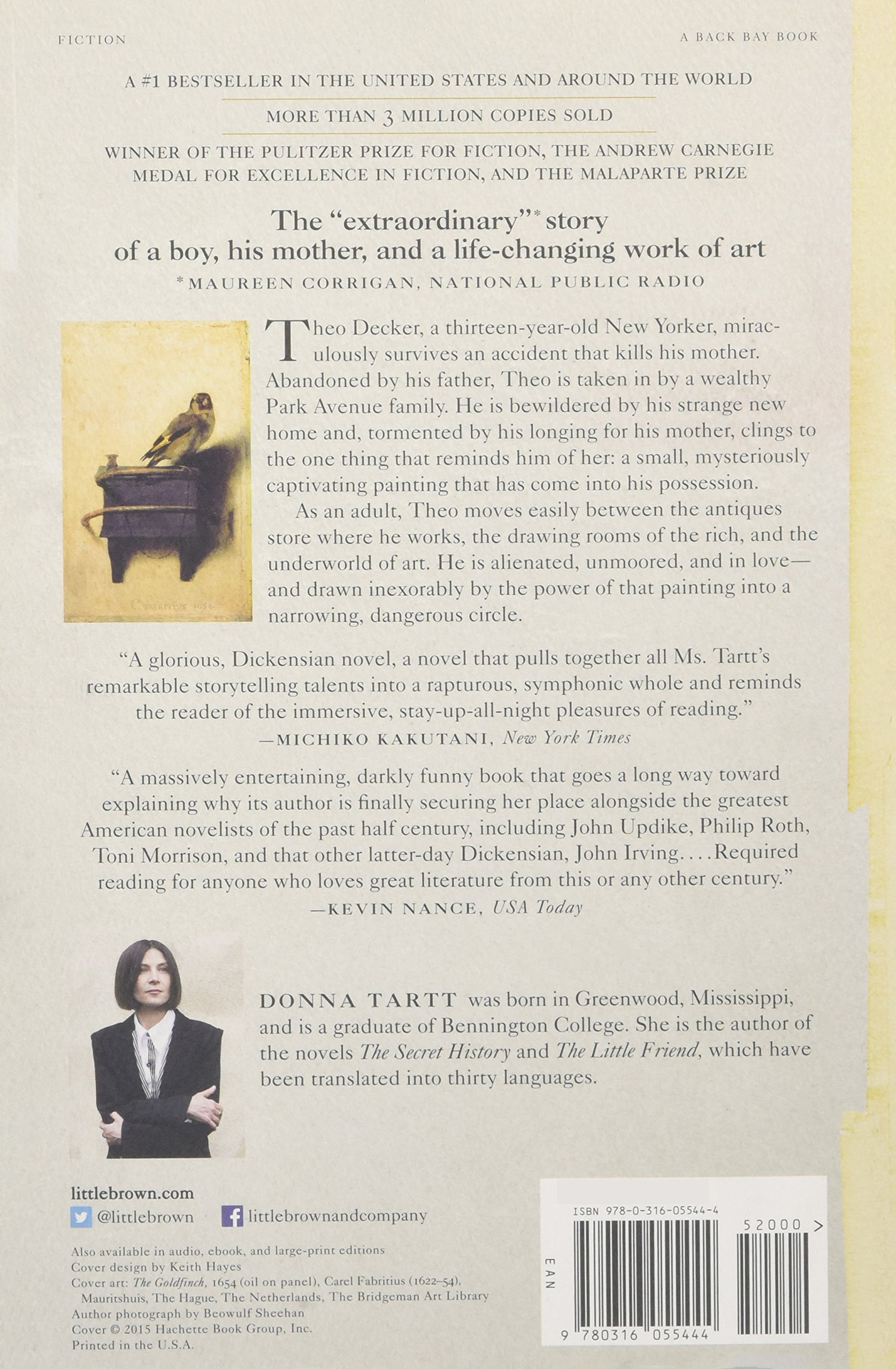 The Goldfinch: A Novel (pulitzer Prize For Fiction): Donna Tartt:  9780316055444: Amazon: Books