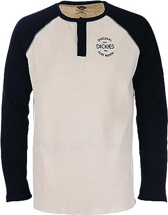 Dickies Gridley Camiseta De Manga Larga, Black, XSmal para Hombre ...