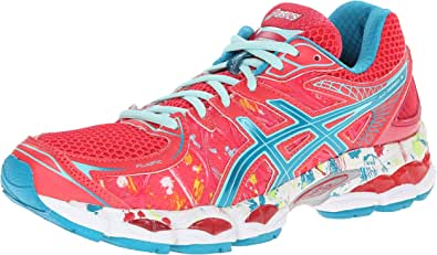 Asics Gel-Nimbus 16 Nueva York de la Mujer Running Shoe, Rosado (Twenty/Six/Two), 8.5 B(M) US: Amazon.es: Zapatos y complementos