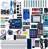 Elegoo UNO R3 Project The Most Complete Ultimate Starter Kit w/TUTORIAL, UNO R3 controller board, LCD1602, Servo, Stepper Motor for Arduino UNO Project
