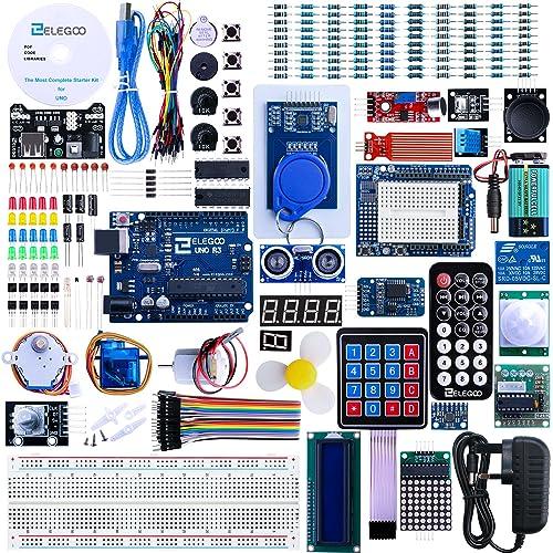 Electronics kits amazon elegoo uno r3 project the most complete ultimate starter kit wtutorial uno r3 solutioingenieria Gallery
