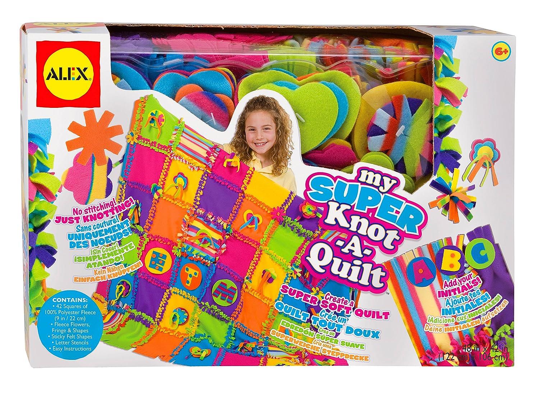 Amazon ALEX Toys Craft Super Knot A Quilt Toys & Games