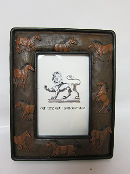 Amazon 4x6 Picture Frame Horses Western Decor Frame Single