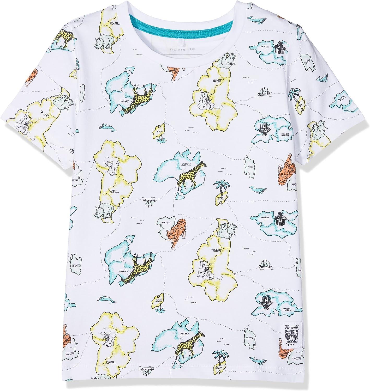NAME IT Jungen Nmmjussan Ss Top T-Shirt