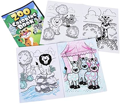 Play Kreative Zoo Coloring Book