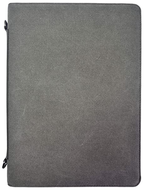 Canvas and Vegan Leather Artist Padfolio by Metier Life | Art Portfolio  Organizer and Drawing Pad | Card and Art Material Storage with Included  Sketch