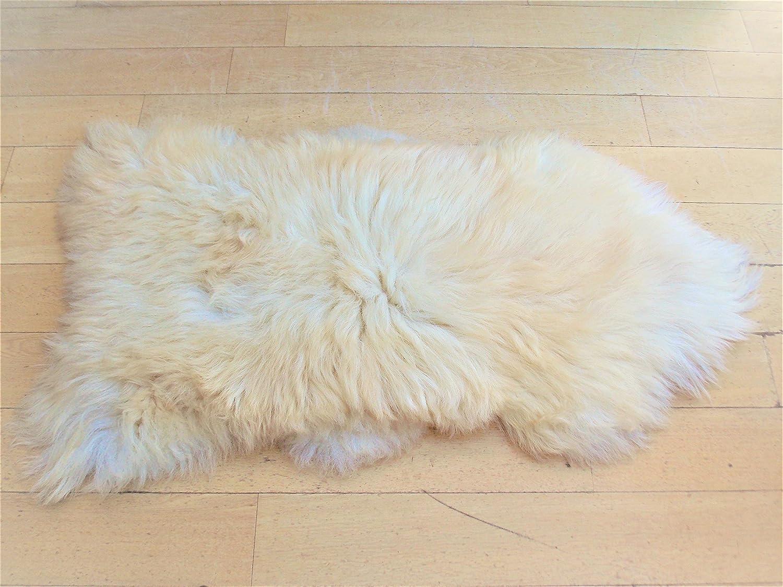 SHEEPSKIN RUG WHITE CREAMY AMAIZING SOFT 120-130 BEST PRIC