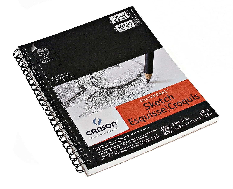 Canson Artist Series Universal – Bloc de Dibujo, 0, 9
