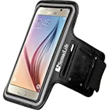 Sumaclife Running Sport Compact Hybrid Sweat Resistant Armband with Key Slot for Samsung Galaxy S8 / Amp Prime 2 / C5 Pro / J3 Emerge / A3 2017