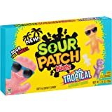 Sour Patch Kids Sweet and Sour Gummy Candy, Tropical, 3.5 Ounce (Pack of 12)