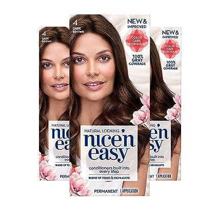 Buy Clairol Nice N Easy Hair Color 120 Natural Dark Brown 1 Kit