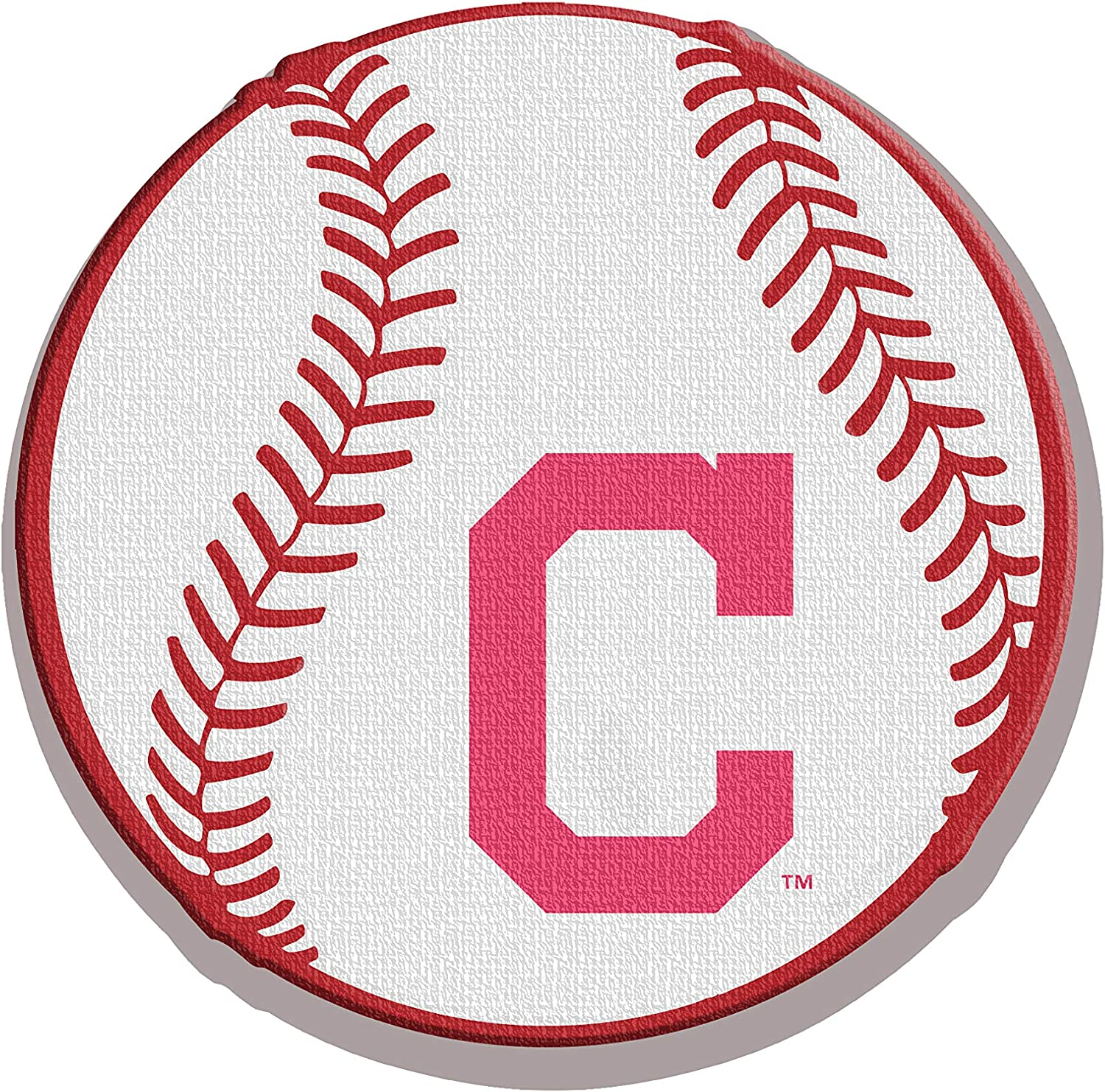 The Memory Company, MLB Cleveland Indians LED Neon Light Sign | Sports Team Lamp Decor | for Office Desk, Man Cave Bar, or Bedroom Night Light