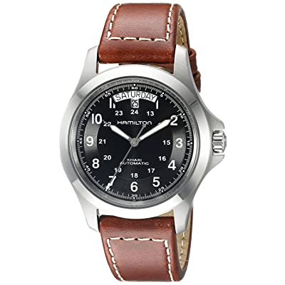 <strong><u>Hamilton Men's Khaki King H64455533 Automatic Watch</u></strong>