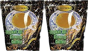Gold Choice Instant Tongkat Ali Ginseng Coffee – 2 Packs