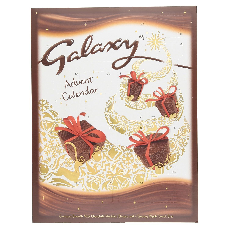 Galaxy Chocolate Advent Calendar, 110 g, Pack of 5: Amazon.co.uk ...