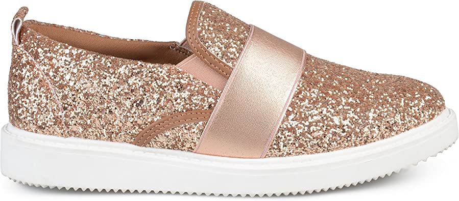 rose gold glitter shoes womens