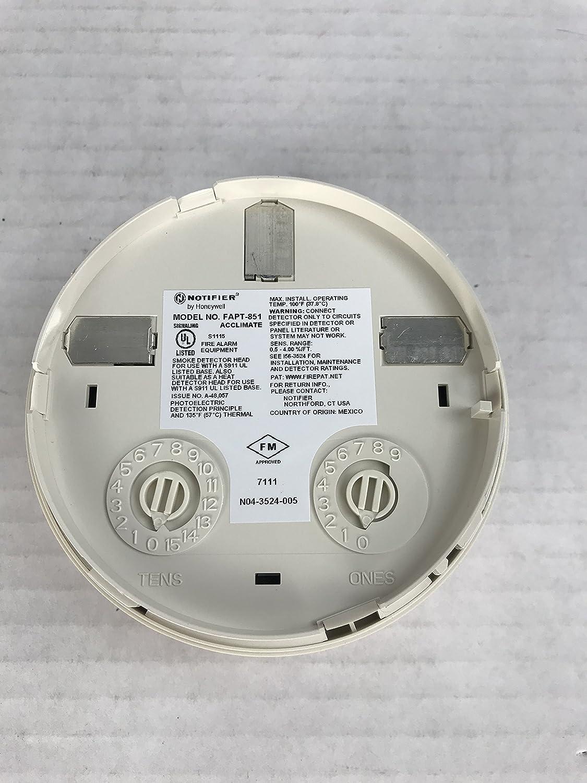 Notificador fapt-851 - inteligente Detector de fotos y termal: Amazon.es: Bricolaje y herramientas