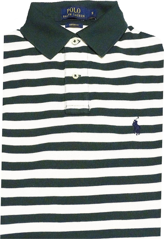 Ralph Lauren Polo – Camiseta para Hombre – Stripe Cream ...