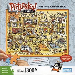 Pictureka! Puzzle by Parker Brothers - City Setting : Item No. 04470-03