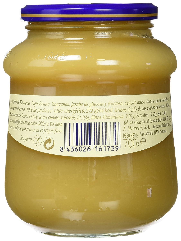 Helios Compota de Manzana - 700 gr - , Pack de 6: Amazon.es: Alimentación y bebidas