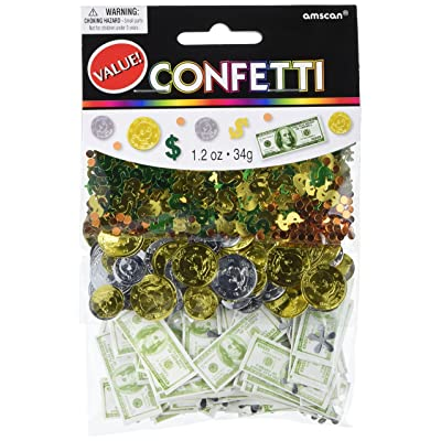 Money Confetti | 1.2 oz | Party Decor: Kitchen & Dining