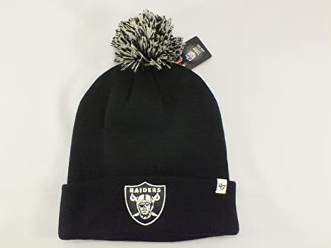 c9542aa35ad3f Image Unavailable. Image not available for. Color  OAKLAND RAIDERS NFL CUFF  BEANIE ...