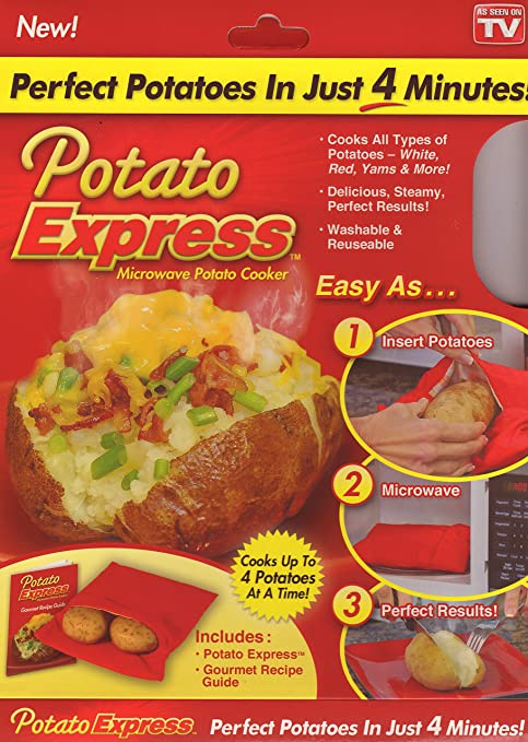 Amazon.com: Potato Express - Olla para patatas microondas ...