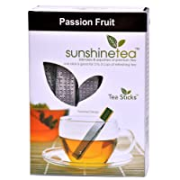 23.Passion Fruit - 10 Tea Sticks Blend of Pure Black Whole Leaf Tea Blended with Natural Passion Fruit Flavour