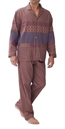 4d23f326f5 zimmerli Pyjama The Grammar of Ornaments Pyjama 4661 Herren Schlafanzug (S)