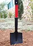 TABOR TOOLS Shovel with Round Point Blade and