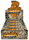 Grenade Carb Killa High Protein and Low Carb Bar, 12 x 60 g - White Choc Mocha