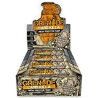 Grenade Carb Killa High Protein and Low Carb Bar, 12 x 60 g - White Choc Mocha
