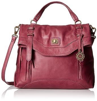 b82c9f2b77 The Sak Sycamore Messenger, Cabernet: Handbags: Amazon.com