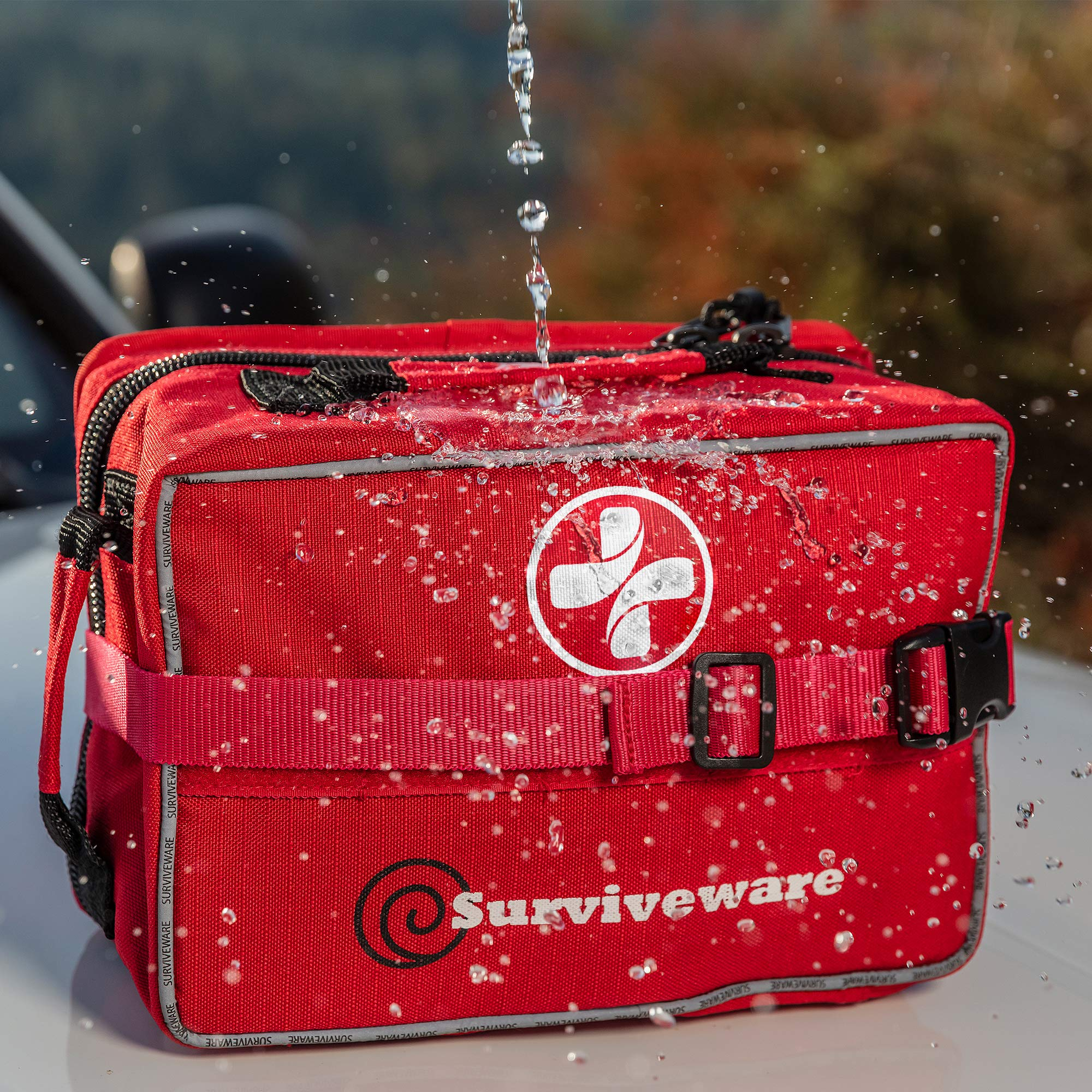 Surviveware Large First Aid Kit & Added Mini Kit by Surviveware (Image #6)