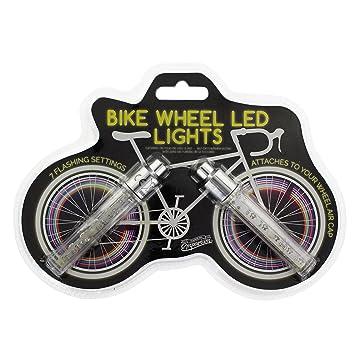 Paladone Unisex Emporium - Luces LED para ruedas de bicicleta, multicolor: Amazon.es: Deportes y aire libre