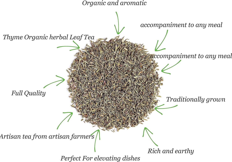 Tomillo hojas hierba seco orgánico - Ideal para realzar sabores en ...