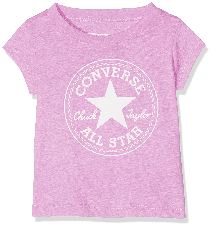 Converse Chuck Patch Tee, T-Shirt Bimba CNV6530S