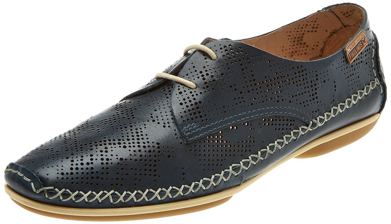 Pikolinos Roma W1r, Zapatos de Cordones Derby para Mujer 36 EU Azul (Ocean)