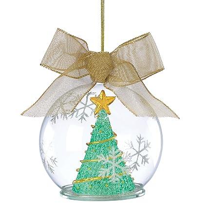 amazon com lenox lit wonder ball hanging ornament tree green home