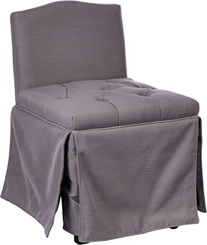 Safavieh Mercer Collection Betsy Grey and Taupe Vanity Chair