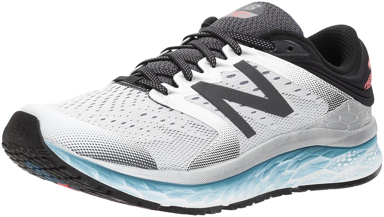 New Balance Men's 1080v8 Fresh Foam Running Shoe B06XS6D49C 11 2E US|White/Black