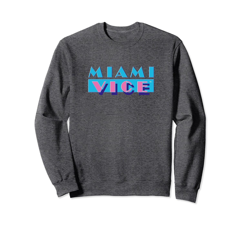 7f91dafa2 Miami Vice Logo Crew Neck Sweatshirt-alottee gift – Alottee