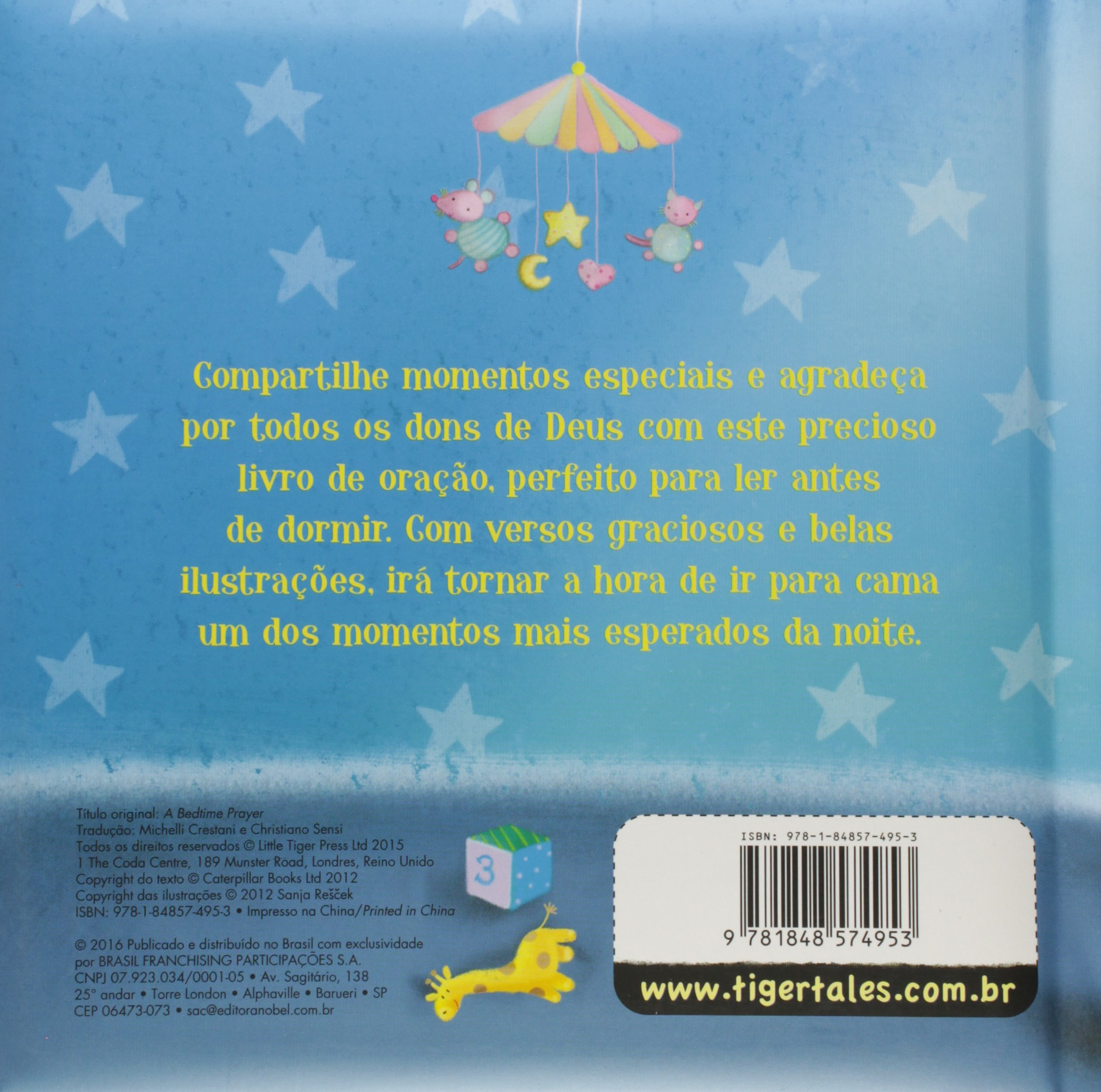 Boa Noite, Papai do Ceu: Sanja Rescek, 3: 9781848574953: Amazon.com: Books