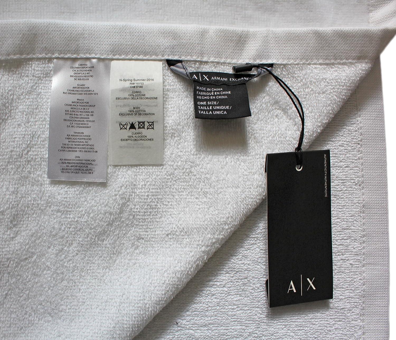 Armani Exchange Unisex Logo Handtuch, Strandtuch Größe, extra groß ...