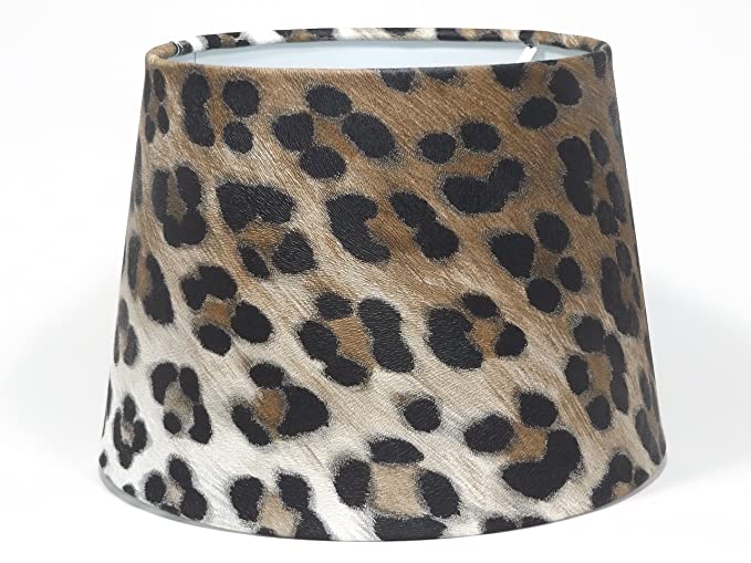 Leopard print lampshade or ceiling light shade pendant 95 dual leopard print lampshade or ceiling light shade pendant 95quot dual purpose lamp shade or light aloadofball Images